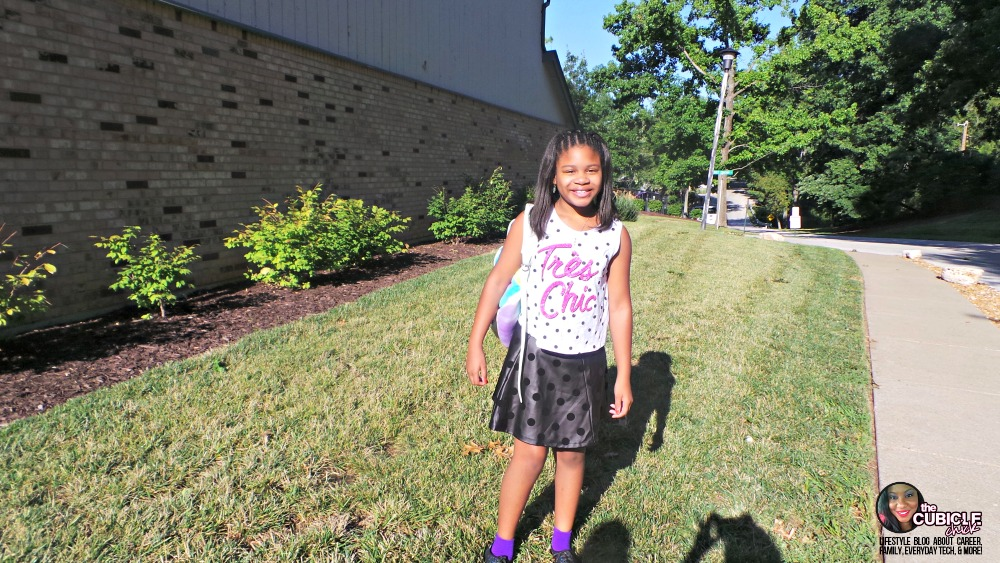 The Chicklet's First Day of School