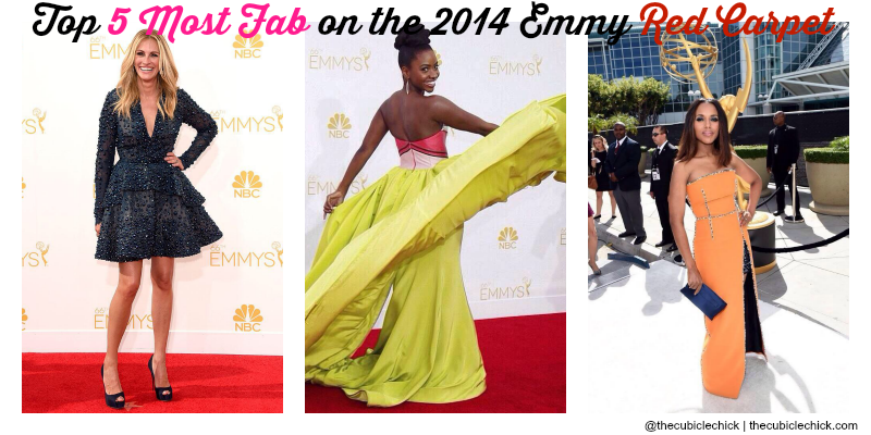 Top 5 Most Fab on the 2014 Emmy Red Carpet