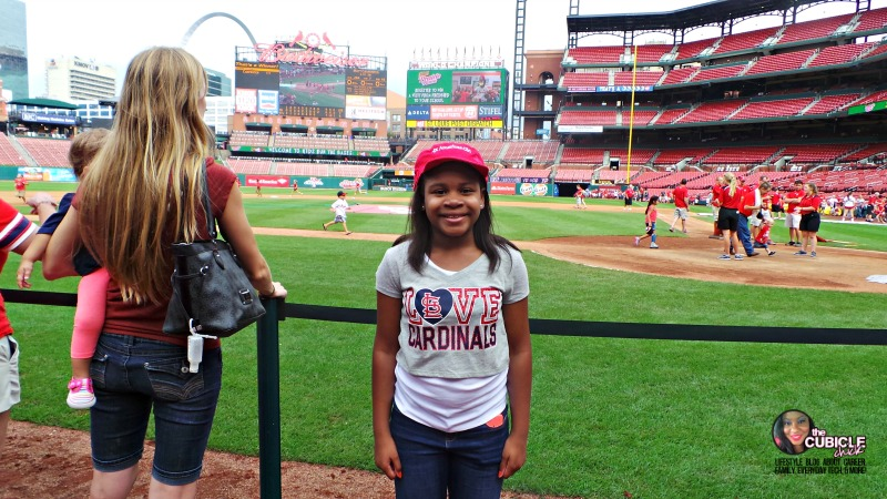 American Girl at Busch Stadium