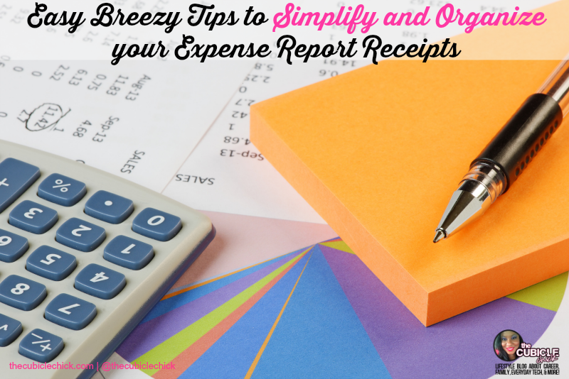 Easy Breezy Tips to Simplify and Organize your Expense Report Receipts
