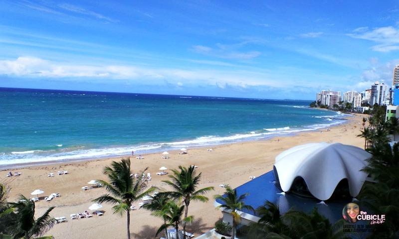 La Concha view Puerto Rico