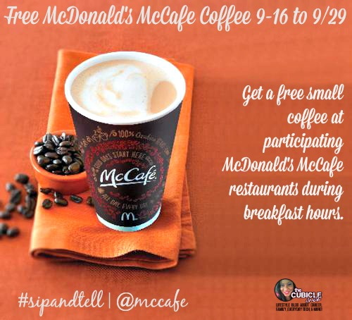 McCafe Free Coffee