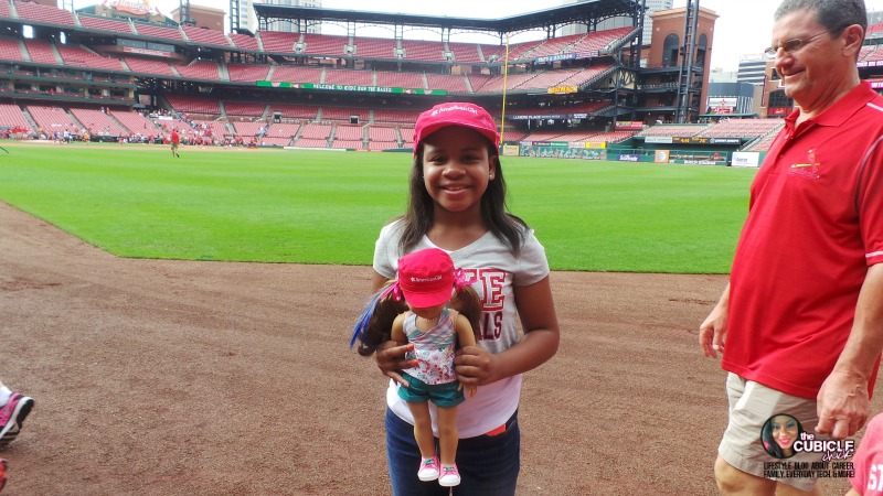 St. Louis Cardinals American Girl at Busch Stadium