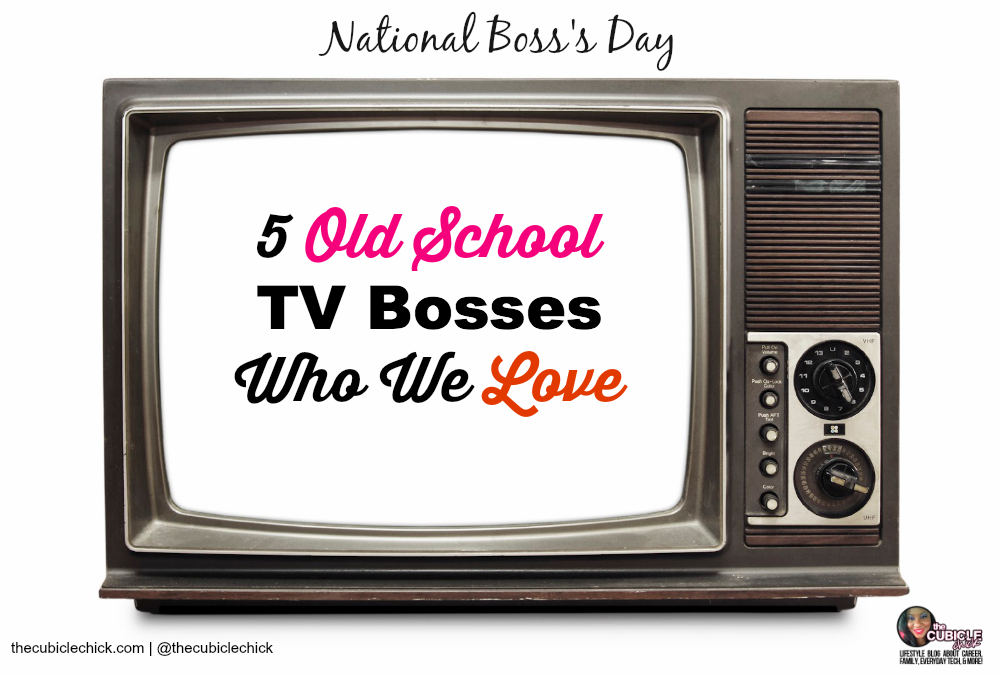 5 Old School TV Bosses Who We Love