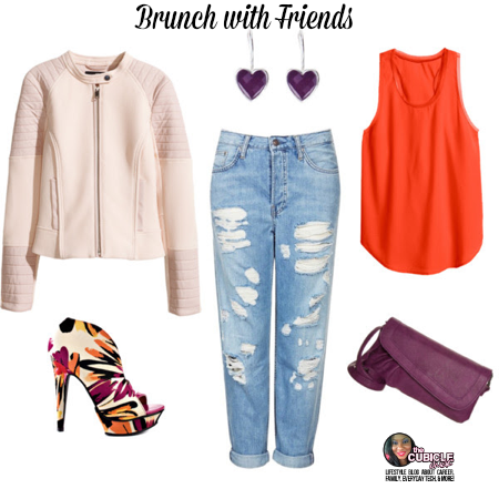 Brunch with Friends Moto Jacket