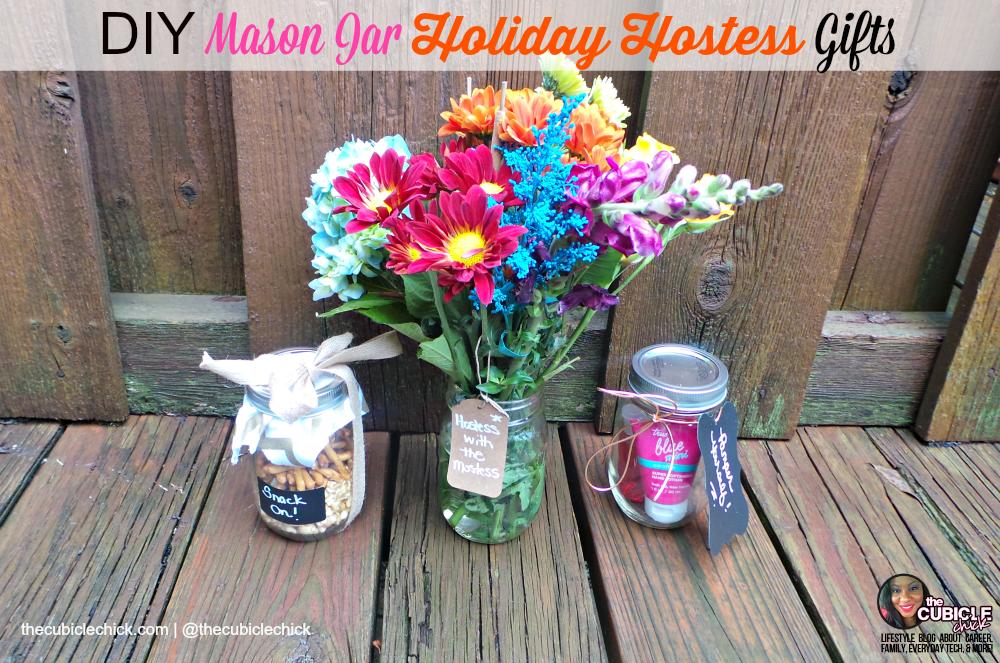 DIY Mason Jar Holiday Hostess Gifts