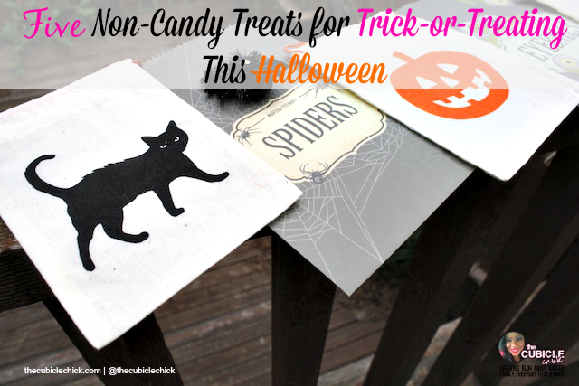 Five Non-Candy Treats for Trick-or-Treating This Halloween
