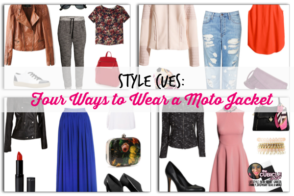 Style Cues Four Ways to Wear a Moto Jacket