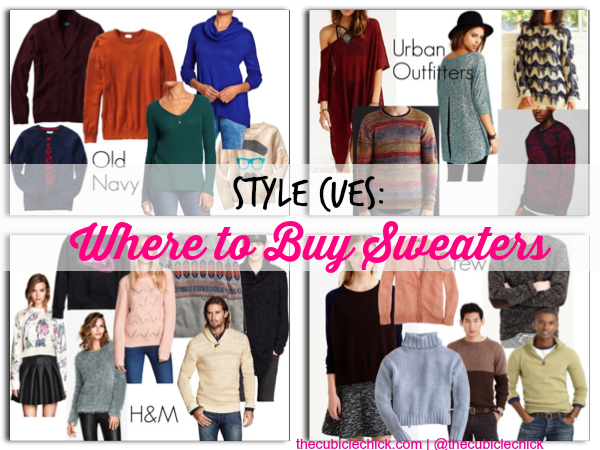 Where to Buy Sweaters