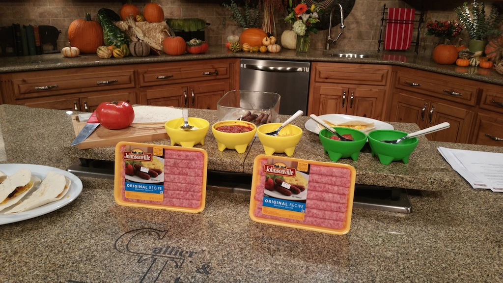 My Johnsonville Breakfast Taco Bar Recipe Segment on Show Me St. Louis