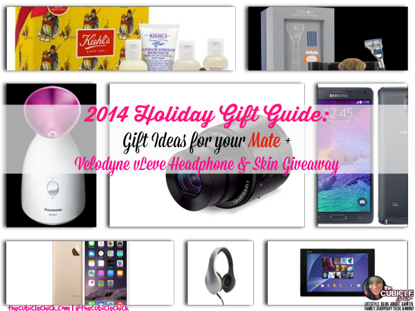 2014 Holiday Gift Guide Gift Ideas for your Mate + Velodyne vLeve Headphone & Skin Giveaway