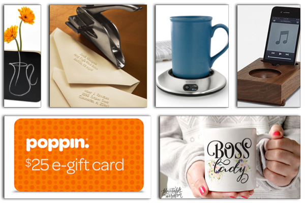 2014 Holiday Gift Guide: Gift Ideas for Coworkers + UncommonGoods $25 Gift Card Giveaway