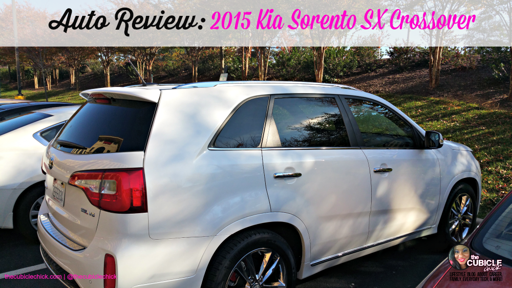 Auto Review 2015 Kia Sorento SX Crossover