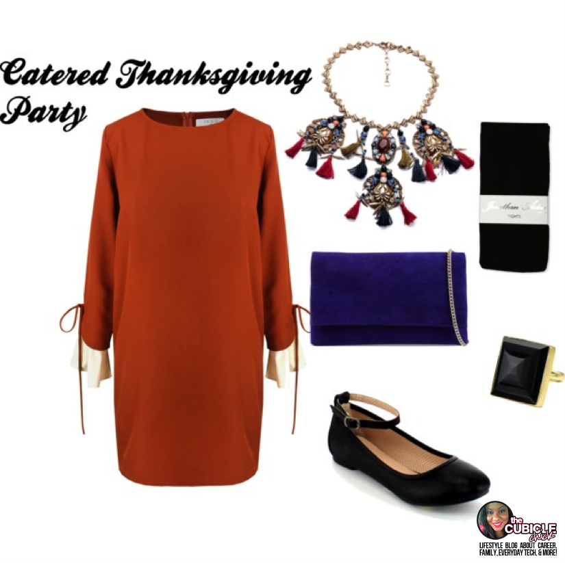 Catered Thanksgiving Party what to wear