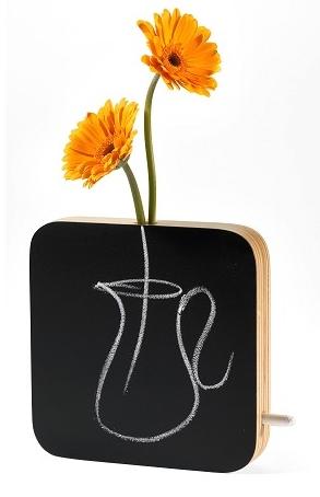 Chalkboard Vase Gift Idea