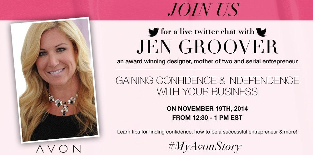 Top 5 Takeaways from the #MyAvonStory Twitter Chat with Jen Groover