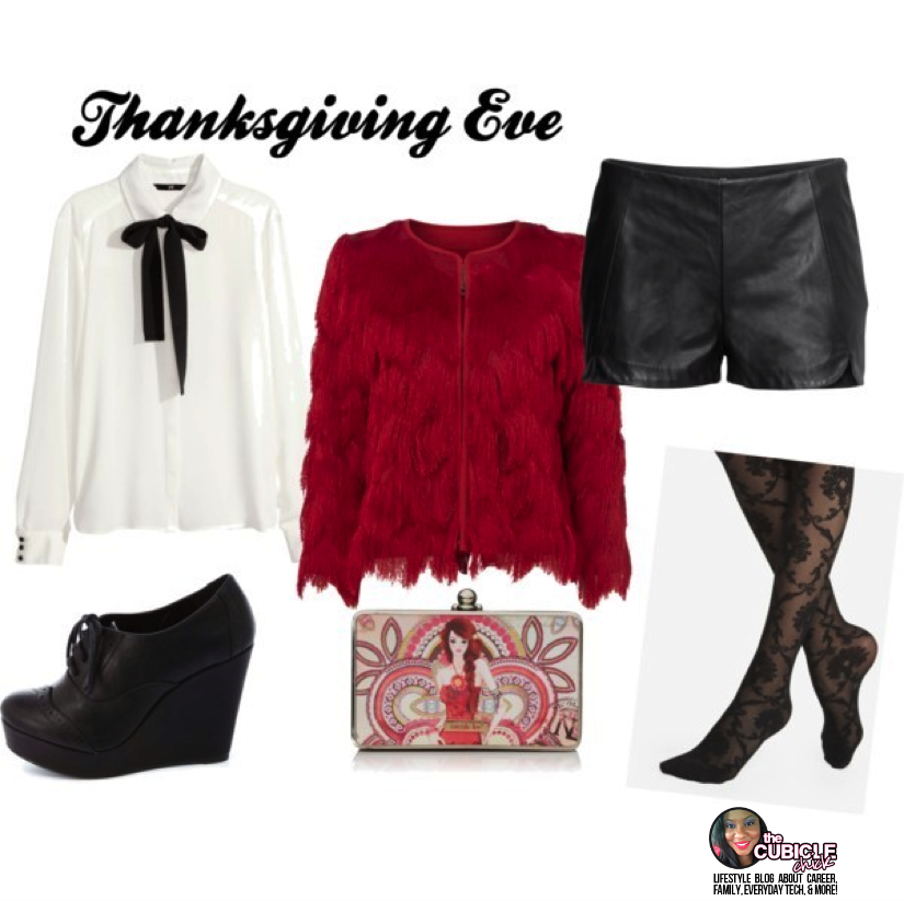 Thanksgiving Eve what to wear