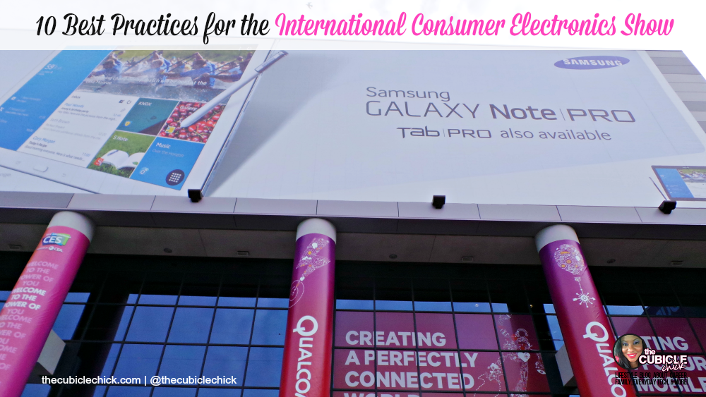 10 Best Practices for the International Consumer Electronics Show