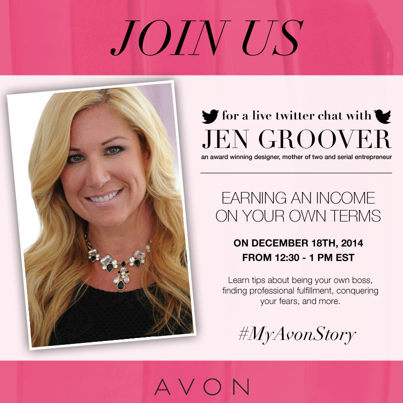 December #MyAvonStory Twitter Chat Recap: Three Must-Haves for Earning Your Own Income