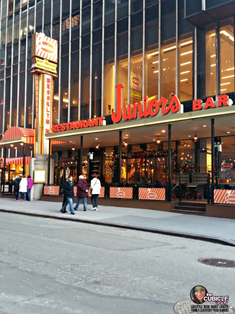 Juniors Cheesecake Times Square