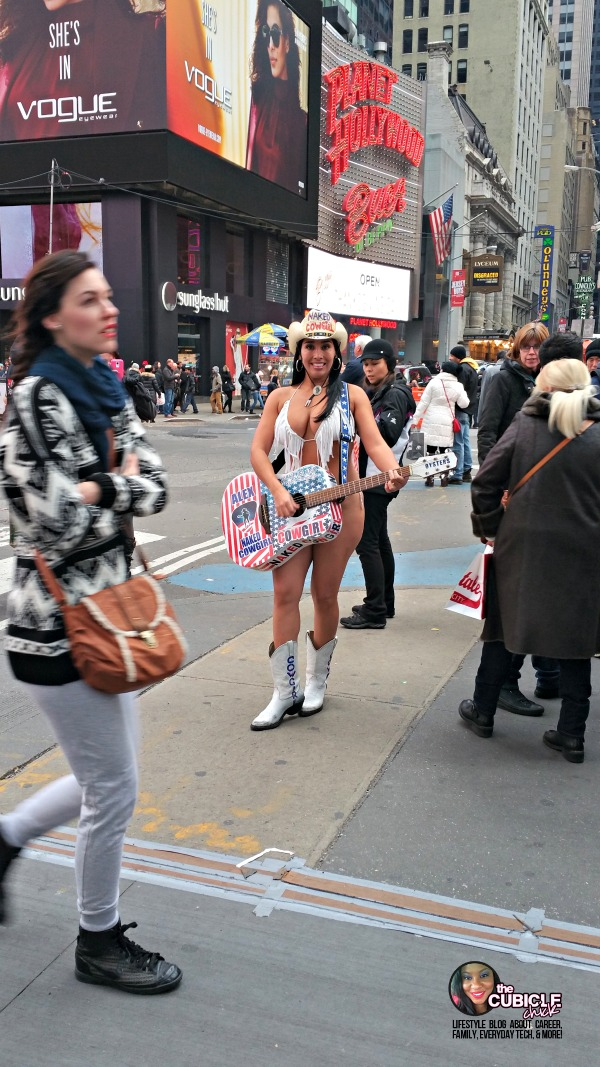 Naked Cowgirl Times Square