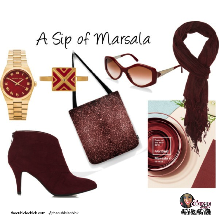 Pantone Color of the Year: Marsala Style Options