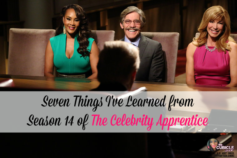 Seven Things I've Learned from Season 14 of The Celebrity Apprentice