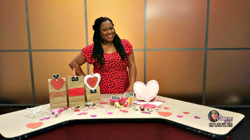 DIY Valentine Craft Ideas Segment on Show Me St. Louis