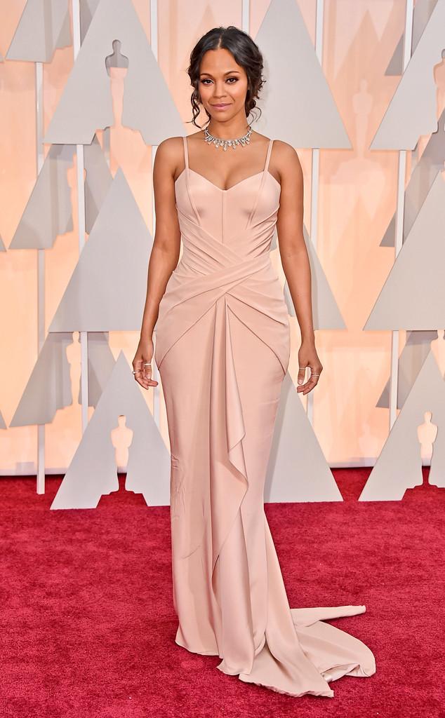 Zoe Saldana 2015 Oscars