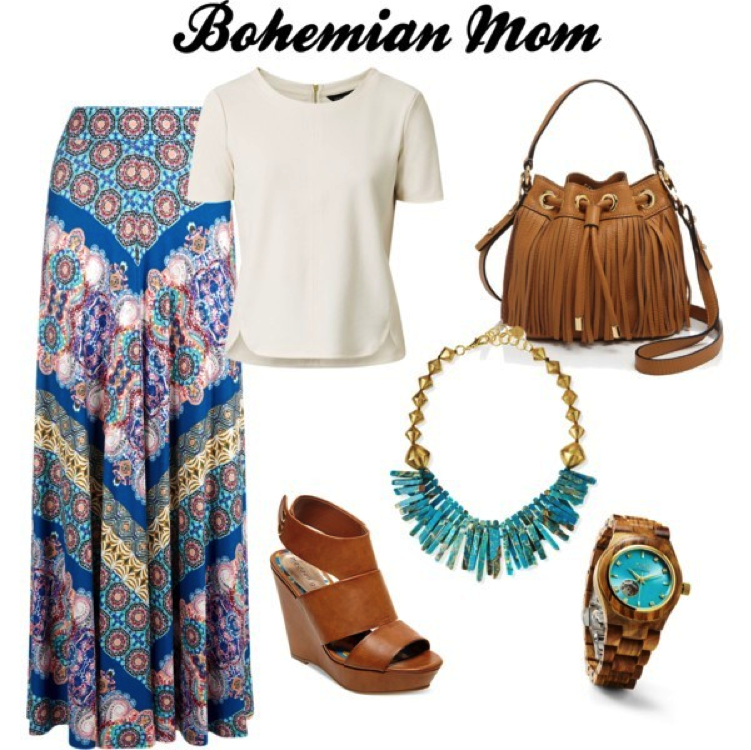 Bohemian Mom Mother's Day
