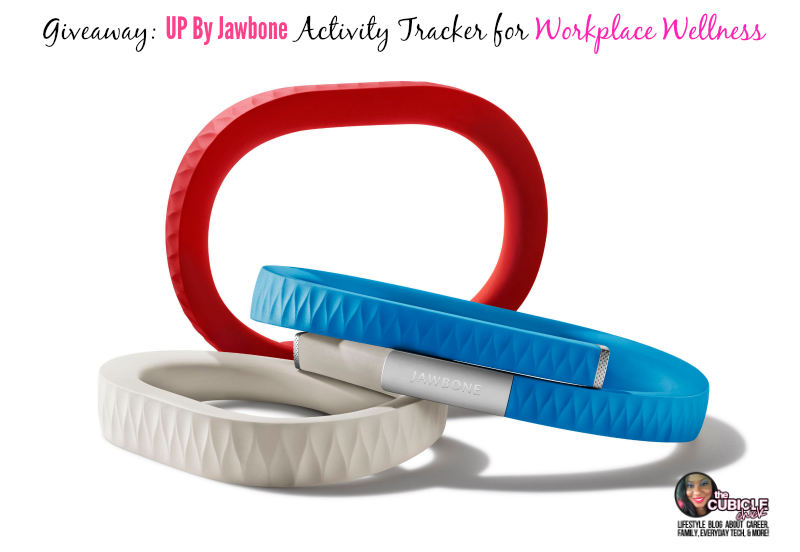 Giveaway UP By Jawbone Activity Tracker for Workplace Wellness