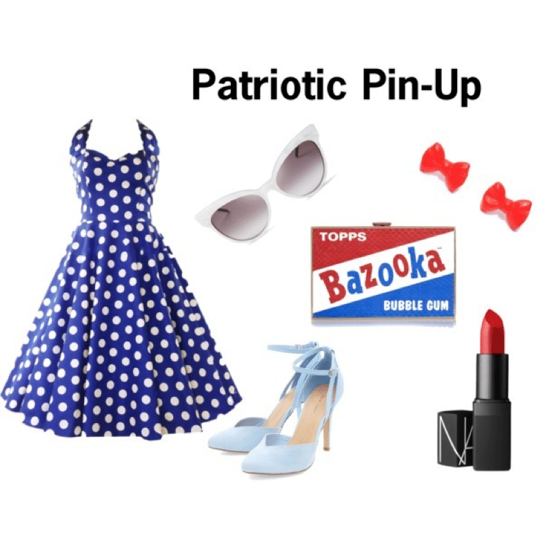 Patriotic Pin-Up