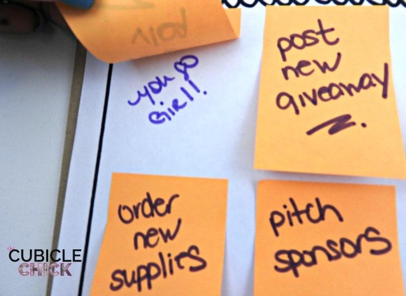 Rotating Goal List Ideas