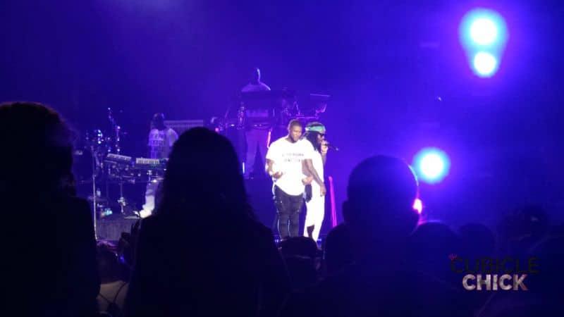 Usher and Wale 2015 Essence Fest