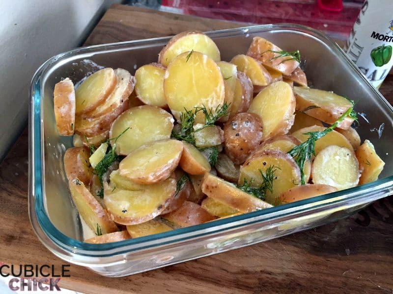 Blue Apron Potato Salad