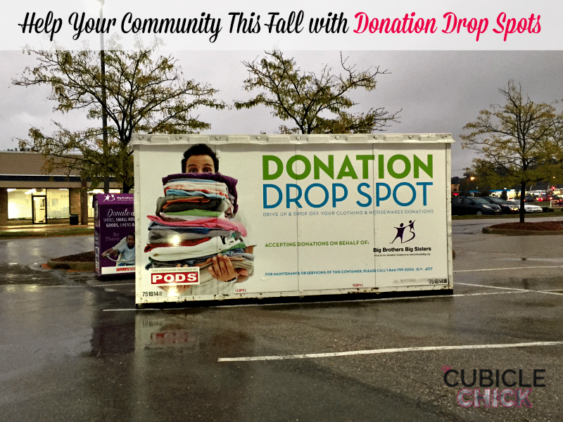 Help Your Community with Donation Drop Spots