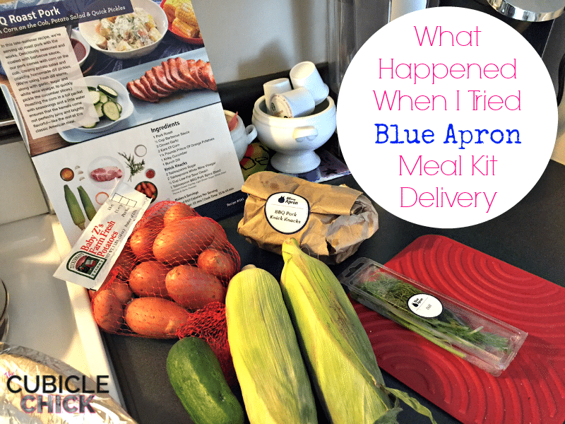 What Happened When I Tried Blue Apron Meal Kit Delivery