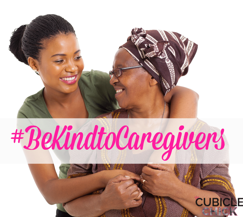 #BeKindtoCaregivers with Random Acts of Kindness