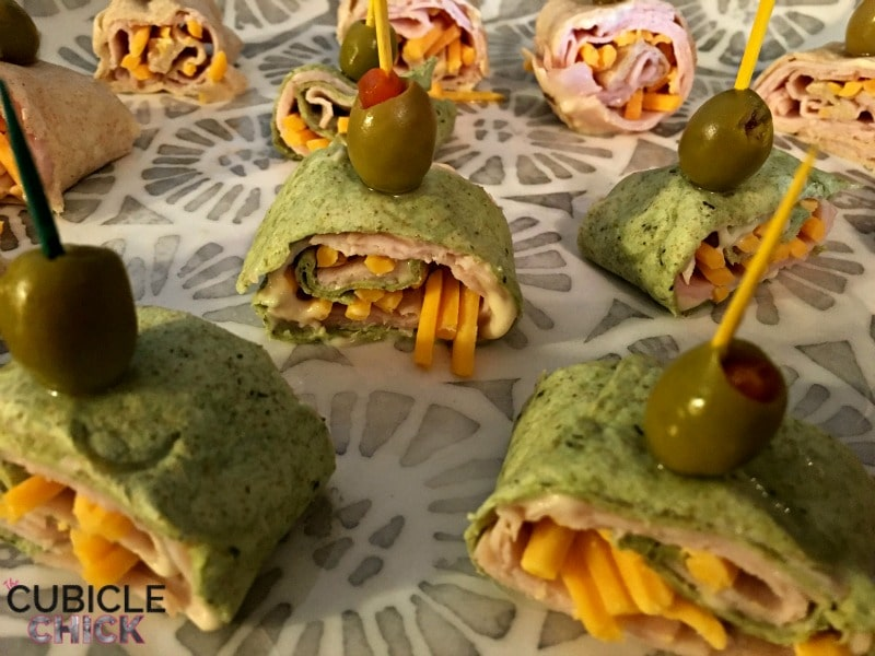 Entertaining Recipe: Turkey Wrap Appetizers with Healthy Ones (Sponsored)
