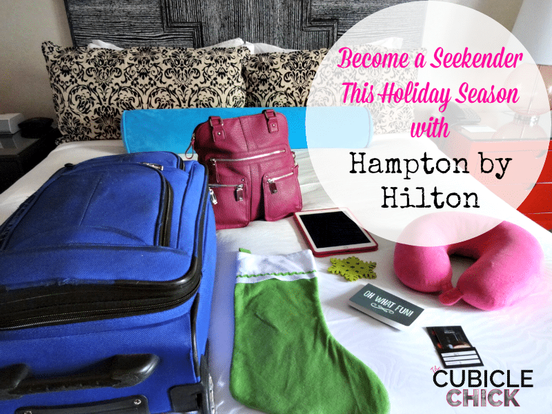 Become a Seekender This Holiday Season with Hampton by Hilton