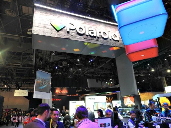 Polaroid CES Day 1