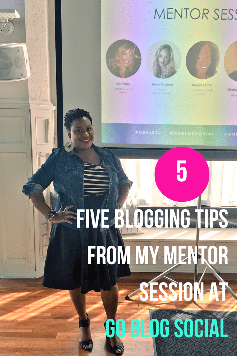 Five Blogging Tips From My Mentor Session at Go Blog Social