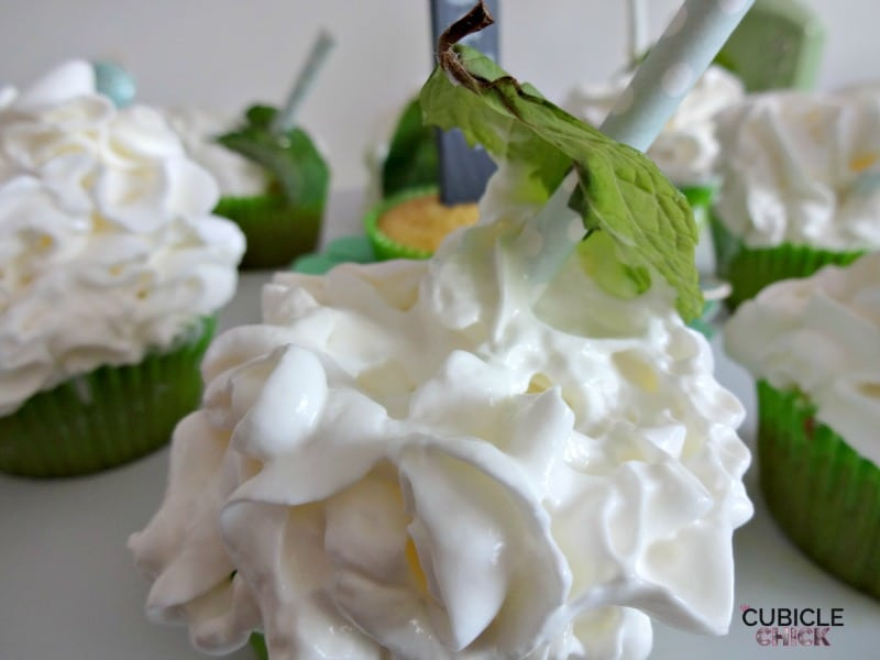 How to Make Mint Julep Cupcakes
