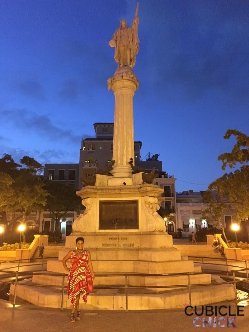 Plaza Colon Old San Juan