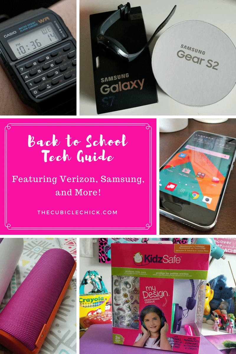 Back to School Tech Guide Featuring Verizon, Samsung, and More!