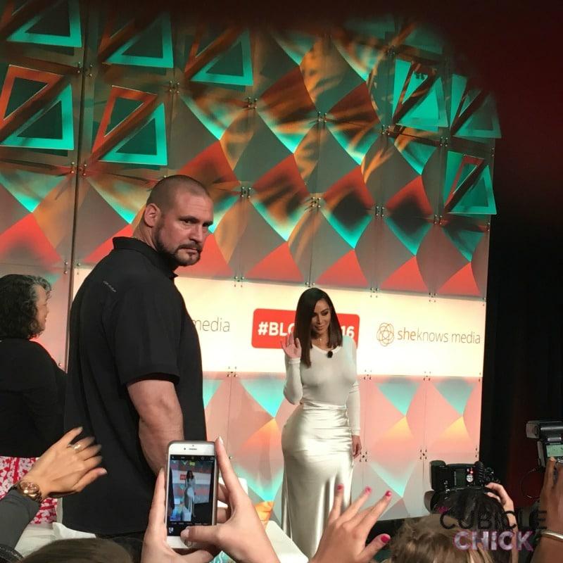 #BlogHer16 Kim Kardashian West Keynote