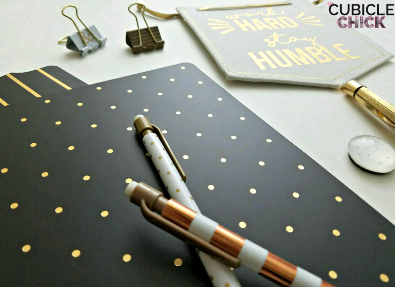 November Desk Set Inspiration: Sparkle and Shine + Giveaway