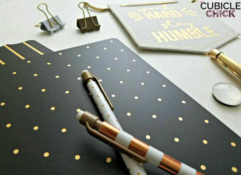 Gold Desk Decor Accessories