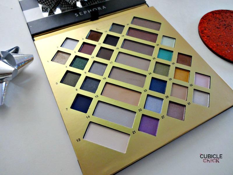 Sephora Eye Shadow Palette Winter 2016