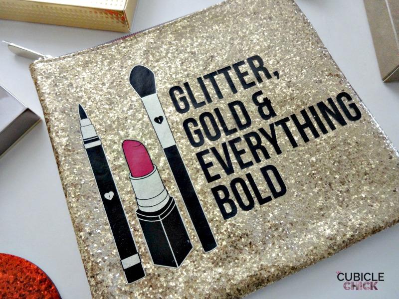 Sephora Gift Ideas Gold Clutch